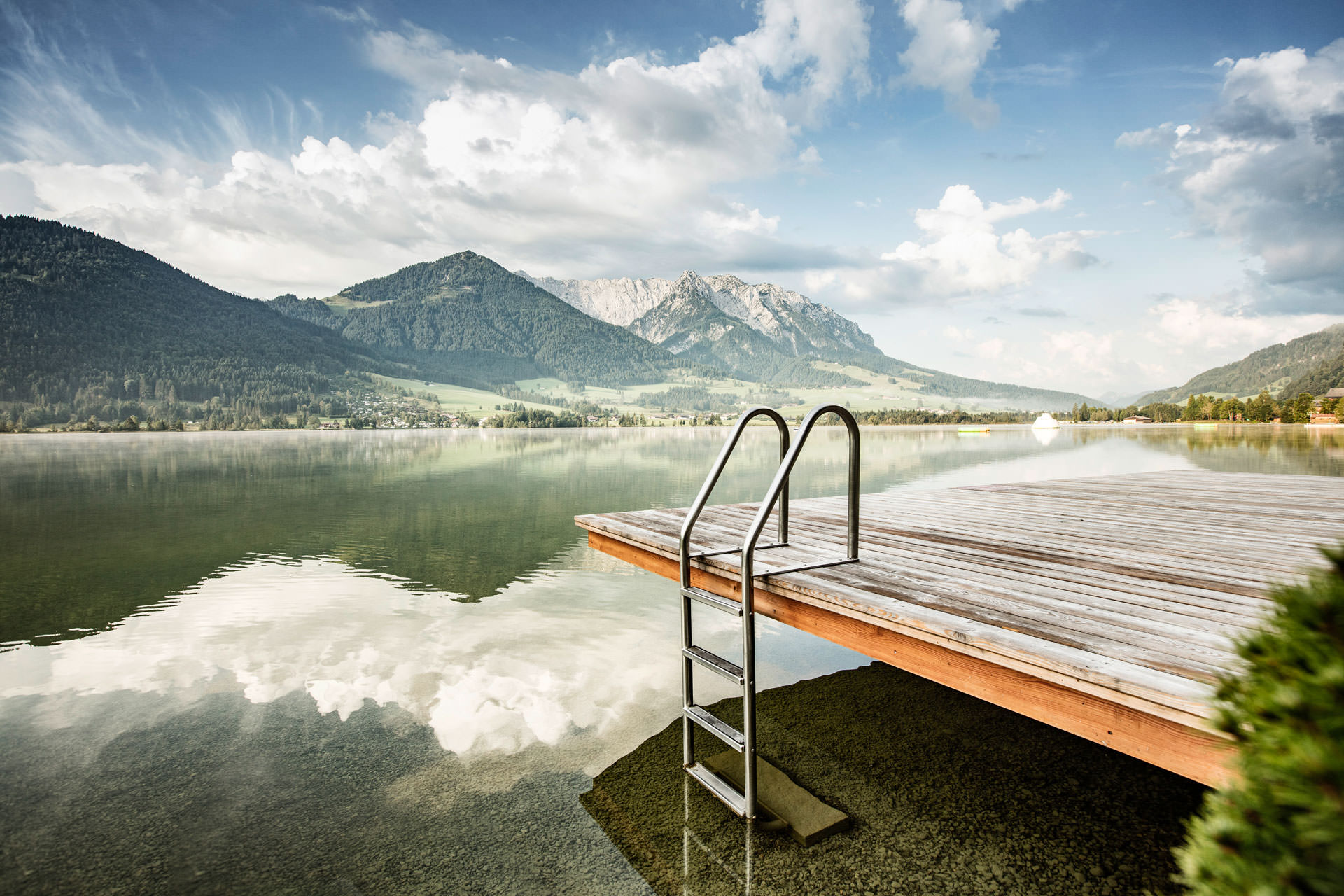 Urlaub am see in tirol seehotel brunner am walchsee for Ferien am see