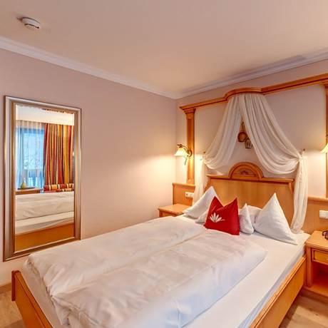 360 Grad Blick auf das Komfort-Doppelzimmer Waldruhe