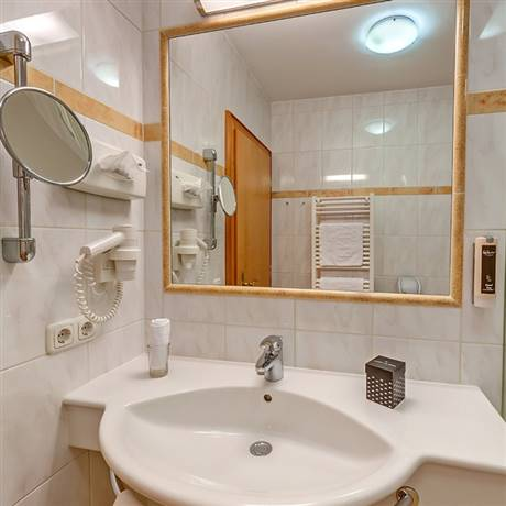 360 degree view from the bathroom in the Comfort Single Room Waldruhe