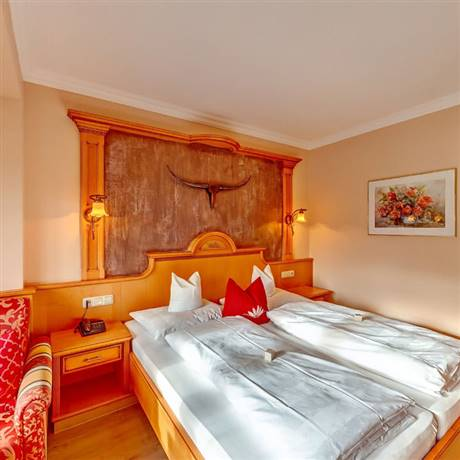 360 degree view of the Comfort Double Room Seeblick